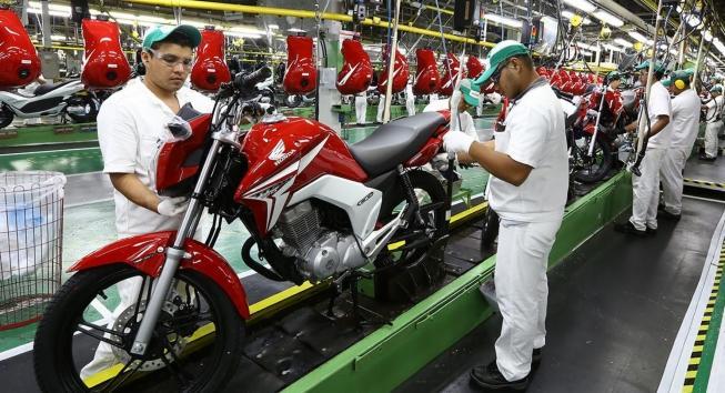 Produção de motocicletas apresentou queda em setembro